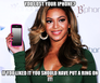 Beyoncé iPhone
