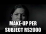 make-up per subject rs2000