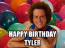 Happy Birthday Tyler