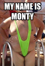 my name is monty