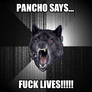 Pancho Says...